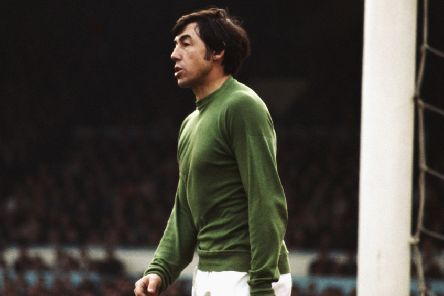 Goalkeeper Gordon Banks circa  (Photo by Don Morley/Allsport/Getty Images)