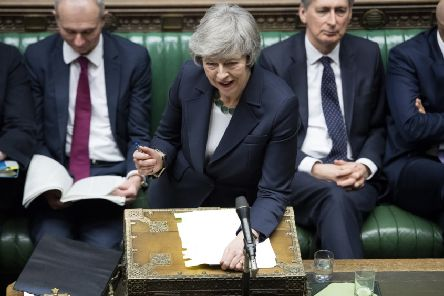 Theresa May's government has downplayed rumours of a possible delay in the U.K.'s exit from the European Union