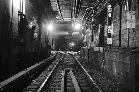 The East Side rail tunnel