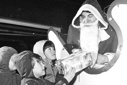 As a girl, Christine didn't understand why so many classmates asked Santa for 'boring' presents (Picture: Stan Warburton)