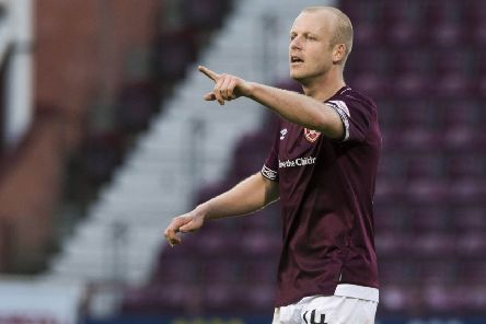 Steven Naismith would be a part of Scotland's plans if they qualify for Euro 2020, says Hearts manager Craig Levein. Picture: SNS.