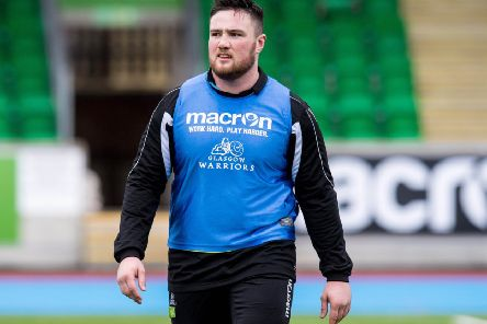 Zander Fagerson is 'in top physical condition' after recovering from his broken ankle. Picture: SNS/SRU
