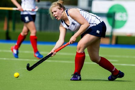 Kerry-Ann Hastings in action for Scotland. Pic: SNS/Craig Watson