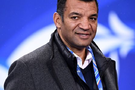 Former player Emile Ntamack looks ahead to France's clash with Scotland. Pic: Franck Fife/AFP/Getty/