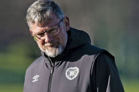Hearts manager Craig Levein insists spats with fellow managers are not personal. Pic: SNS/Ross MacDonald