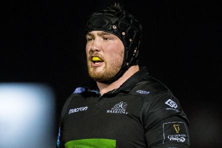 Zander Fagerson made a welcome return for Glasgow Warriors in Cardiff. Picture: Ross Parker/SNS