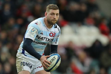 Finn Russell is a doubt for Scotland's match with France after being forced off with an HIA during a Racing 92 match. Picture: Getty Images