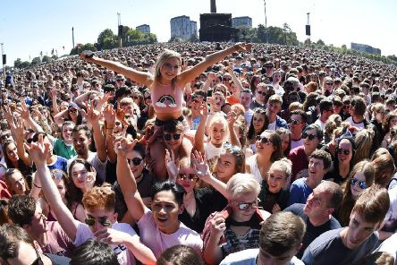 The TRNSMT festival on Glasgow Green has been scaled back from five days to three this summer.