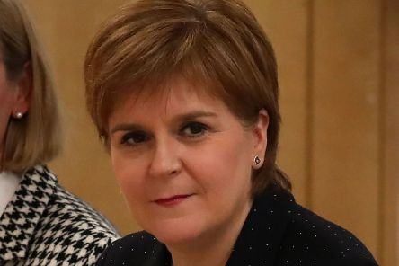 First Minister of Scotland Nicola Sturgeon. (Photo by Andrew Milligan / POOL / AFP)