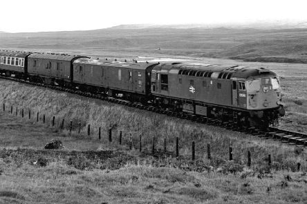 A train on the Kyle of Lochalsh to Dingwall railway line in October 1970. Picture: Hamish Campbell/TSPL