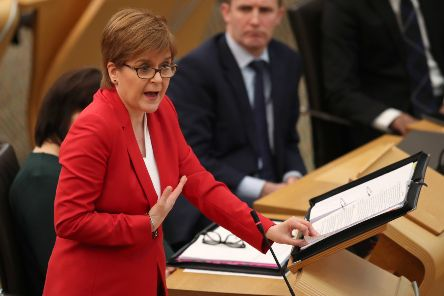 Nicola Sturgeon will open a new Scottish Government office on Tuesday