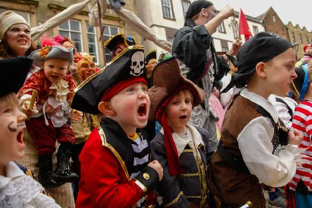 Talk Like a Pirate Day is just one of the fun occasions scattered throughout the year