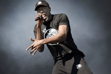 Grime artist Stormzy is on the TRNSMT festival bill. Picture: Getty