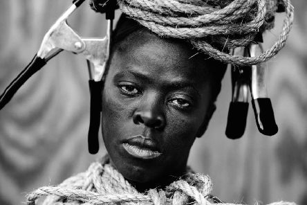 MaID III by Zanele Muholi at the Ingleby Gallery