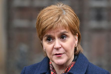 Scotland's First Minister Nicola Sturgeon. Picture: Dominic Lipinski/PA Wire