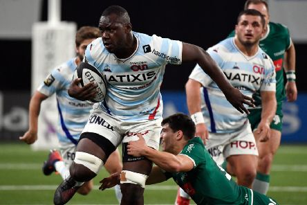Scotland will have to contain Racing 92's powerful forward Jordan Joseph in Friday's U20 international. Picture: AFP/Getty Images