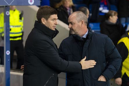 Rangers manager Steven Gerrard has hit out at the abuse directed at Kilmarnock boss Steve Clarke. Picture: SNS/Alan Harvey