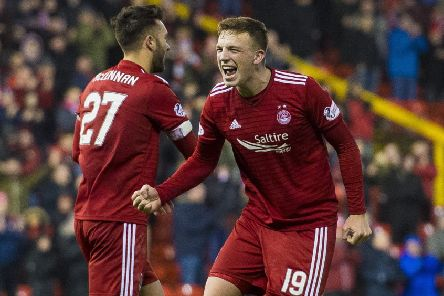 Aberdeen's Lewis Ferguson has signed a new deal. Picture: SNS Group Alan Harvey