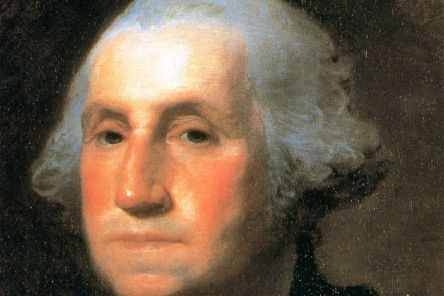 George Washington warned that party loyalties could lead to 'ill-founded jealousies and false alarms' (Picture: Gilbert Stuart/AP)