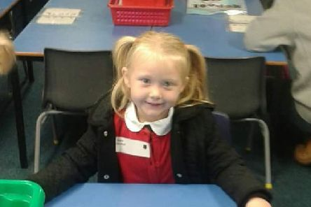 Murder victim Alesha MacPhail, 6, whose body was discovered in woodlands near her grandparents home on the Isle of Bute.