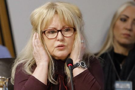 Veronica Lynch, whose daughter was killed in a dog attack in 1989, appears before the Public Audit and Post-legislative Scrutiny Committee to give evidence on their Post-legislative Scrutiny - Control of Dogs (Scotland) Act 2010. 21 February 2019. Pic - Andrew Cowan/Scottish Parliament
