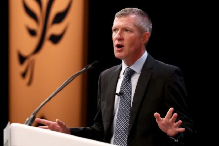 The Scottish Liberal Democrat leader also indicated that he would continue to push for holding a People's Vote