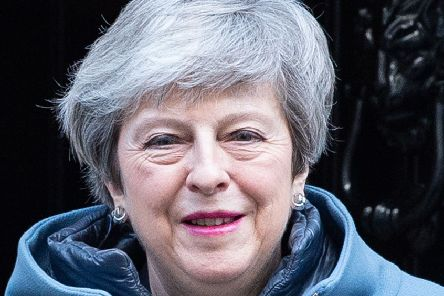 Theresa May. Picture: AFP/Getty