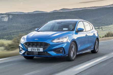 The Ford Focus ST-Line X