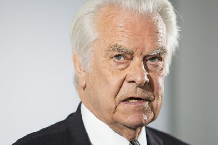 Lord Owen, who was appointed health minister in 1974 and had wanted the United Kingdom to become self-sufficient in blood products. Picture: Getty Images