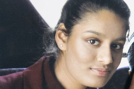 Shamima Begum fled the UK to join the Islamic State terror group in Syria aged 15 and has been stripped of her British citizenship by the Home Office. Picture: PA/PA Wire