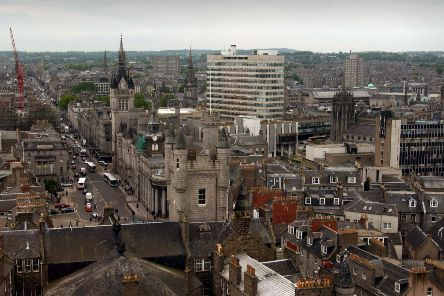The free parking scheme was designed to encourage more footfall in Aberdeen city centre