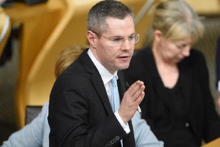 Derek Mackay hailed the figures. Picture: PA