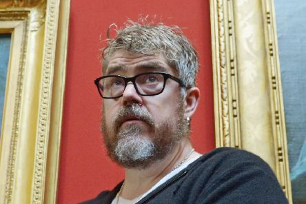 Phil Jupitus smashed his Volvo into a truck in Fife. Picture: Phil Wilkinson