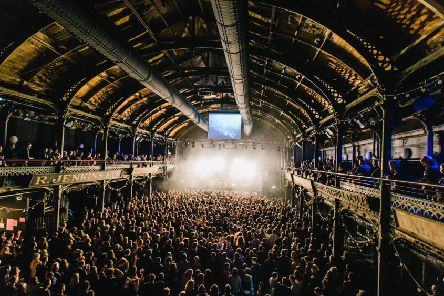 The Celtic Connections at the Old Fruitmarket. Picture: contributed