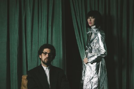 Karen O & Danger Mouse''PIC: Eliot Lee Hazel