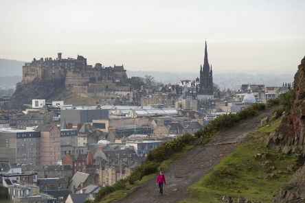 It's pretty easy to see why Edinburgh is popular with tourists (Picture Ian Rutherford)