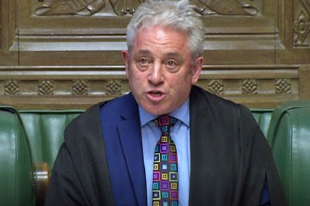 John Bercow ruled against the UK Government asking MPs to vote again on Theresa May's Brexit plan (Picture: PA)
