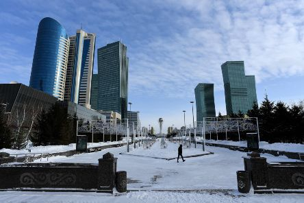 A general view of downtown Astana / Nursultan in Kazakhstan. Picture: AFP/Getty Images