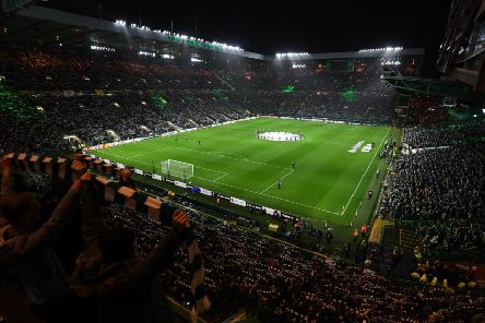 A general view of Celtic Park before a European game. Picture: SNS Group