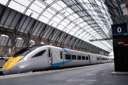 FirstGroup's new Hitachi AT300 train. Picture: FirstGroup