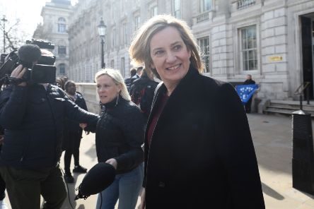 Home Secretary Amber Rudd is one of the few people left who could stop a no-deal Brexit (Picture: Jack Taylor/Getty Images)