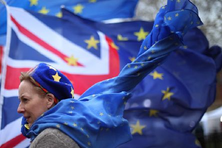 A major protest calling for a second EU referendum is planned to be held in London on Saturday (Picture: Yui Mok/PA Wire)