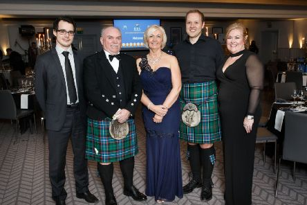 DSL Business Finance representatives with VeryConnect staff at Glasgow's Grand Central Hotel. Picture: Robert Perry