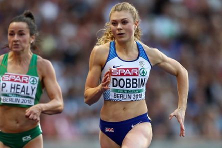 Beth Dobbin is Scotland's best sprint prospect.  Picutre: Michael Steele/Getty Images