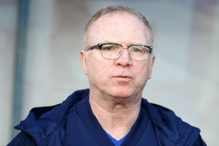 Alex McLeish has urged the fans to stick by his team in spite of their uninspiring performance. Picture: PA.