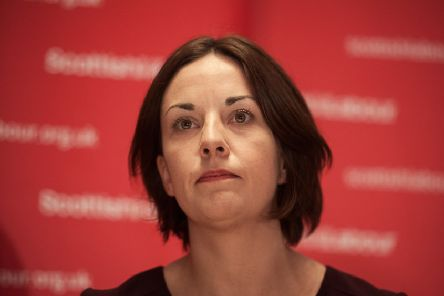 Former Scottish Labour leader Kezia Dugdale made the accusation