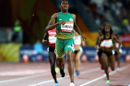 A CAS ruling is due in South African runner Caster Semenya's 'pivotal' case against the IAAF. Picture: Getty.