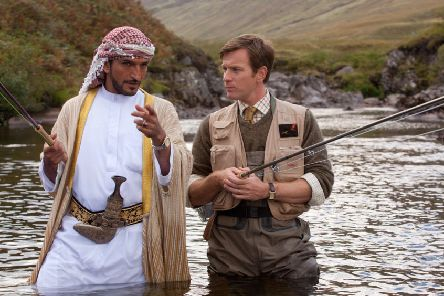 Ewan McGregor in the film Salmon Fishing In The Yemen. Photo: Lionsgate/Kobal/REX/Shutterstock