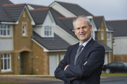 George Fraser, chief executive of Tulloch Homes pictured at one of its Inverness developments. Picture: Contributed