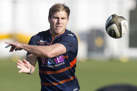 Jaco van der Walt in training at Murrayfield. Picture: SNS Group